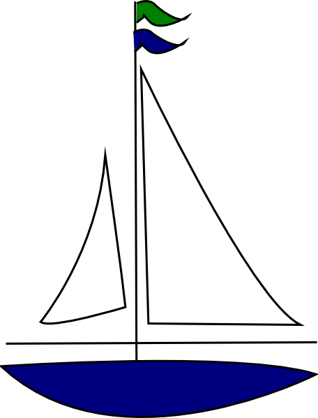 picture transparent library Free clip art sailboat. Yacht clipart simple boat