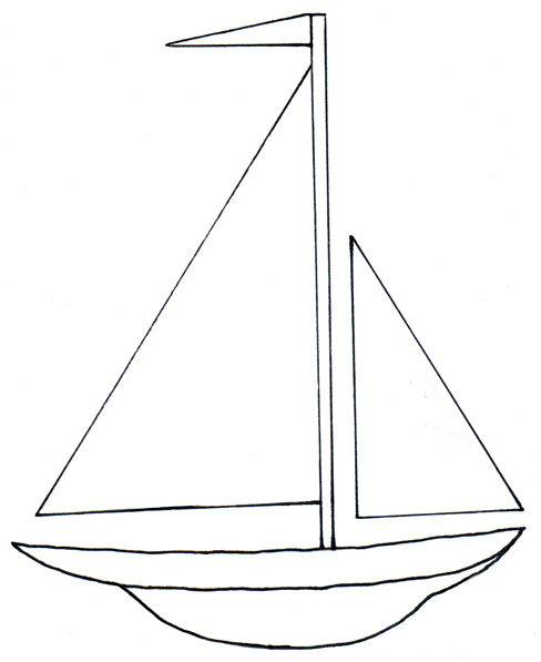 banner royalty free stock Yacht clipart simple boat. Free cliparts download clip