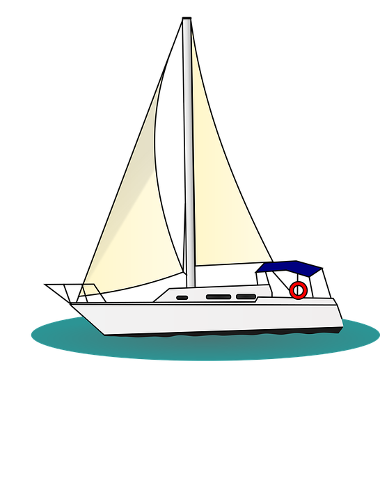 stock Free collection download and. Yacht clipart simple boat