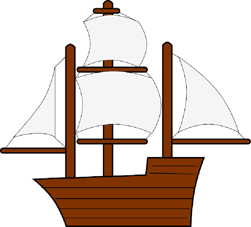 clipart freeuse stock Yacht clipart small. Boat outline free download