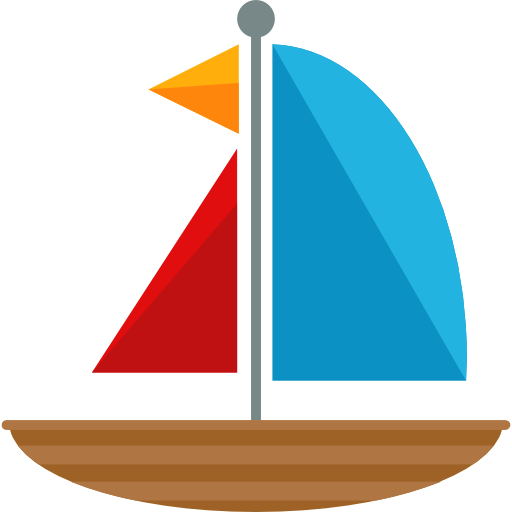 png royalty free stock Yacht clipart toy sailboat. Transport sail sailing boat
