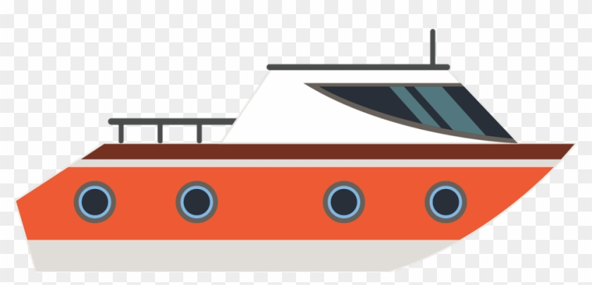 jpg black and white download Yacht clipart transportation. Transport boat hd png