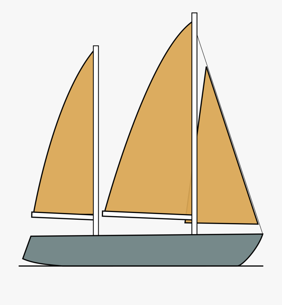 clip library Svg royalty free library. Yacht clipart vinta