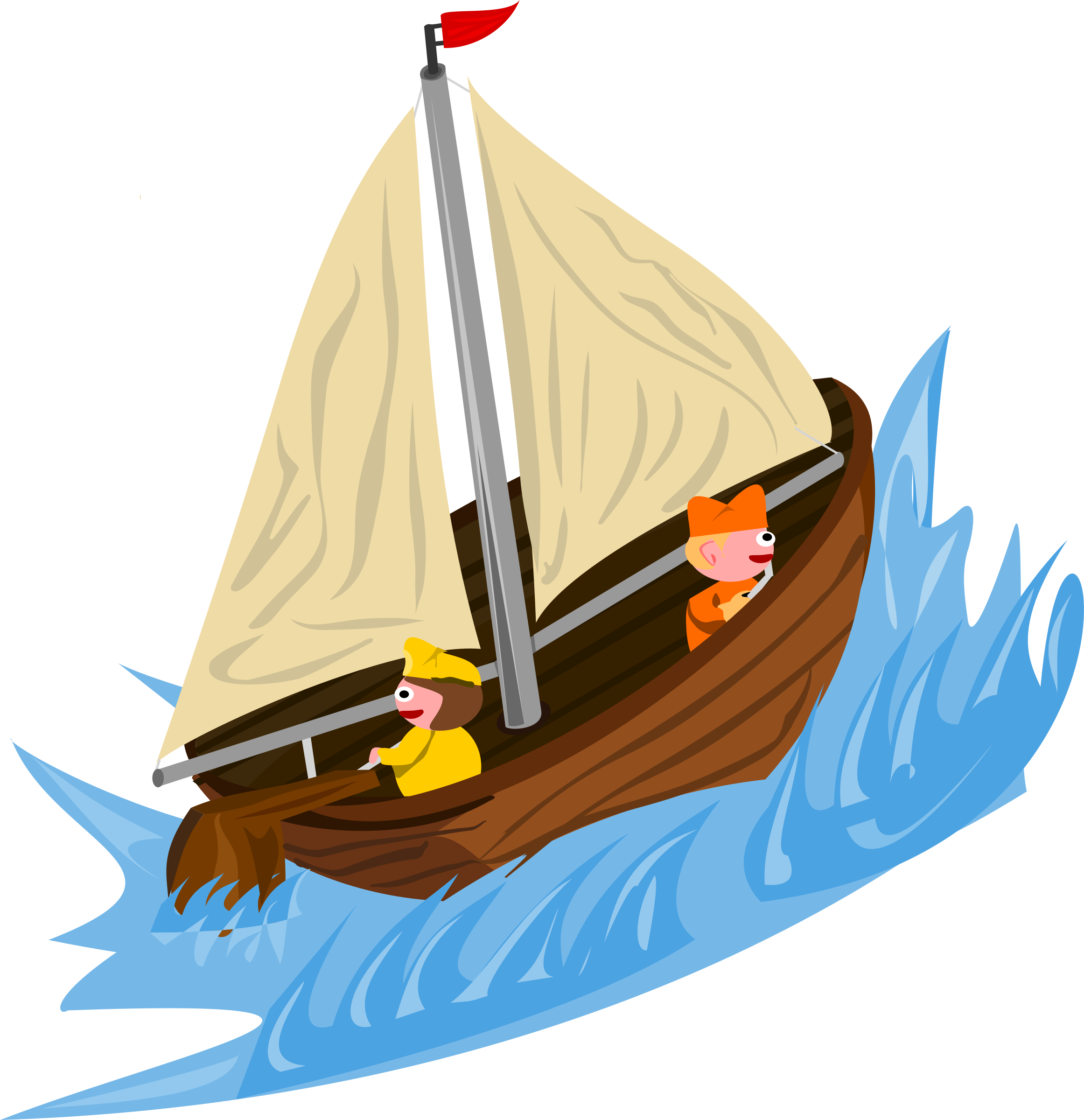 jpg royalty free Sailboat clipart water vehicle