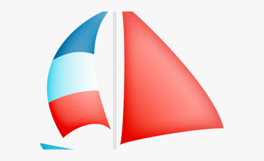 vector library download Yacht clipart waterways. Sailing boat in a