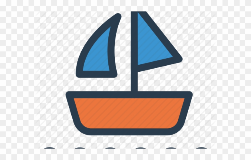 graphic freeuse library Sailboat icon png download. Yacht clipart waterways