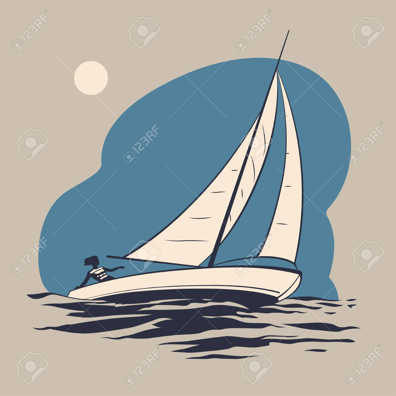 banner stock X free clip art. Yacht clipart wave boat
