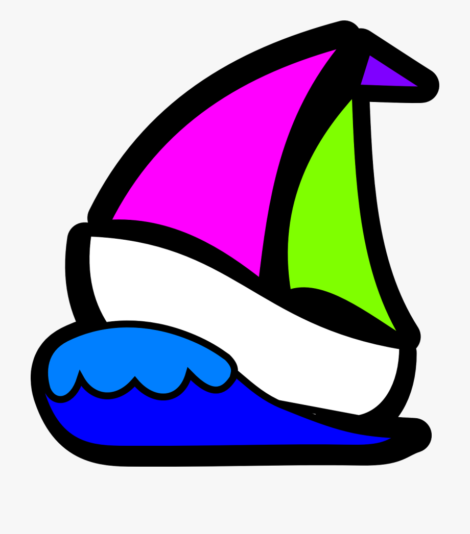 image freeuse stock Sailboat sail clip art. Yacht clipart wave boat