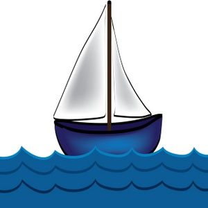 graphic royalty free library Yacht clipart wooden sailboat. Free clip art image