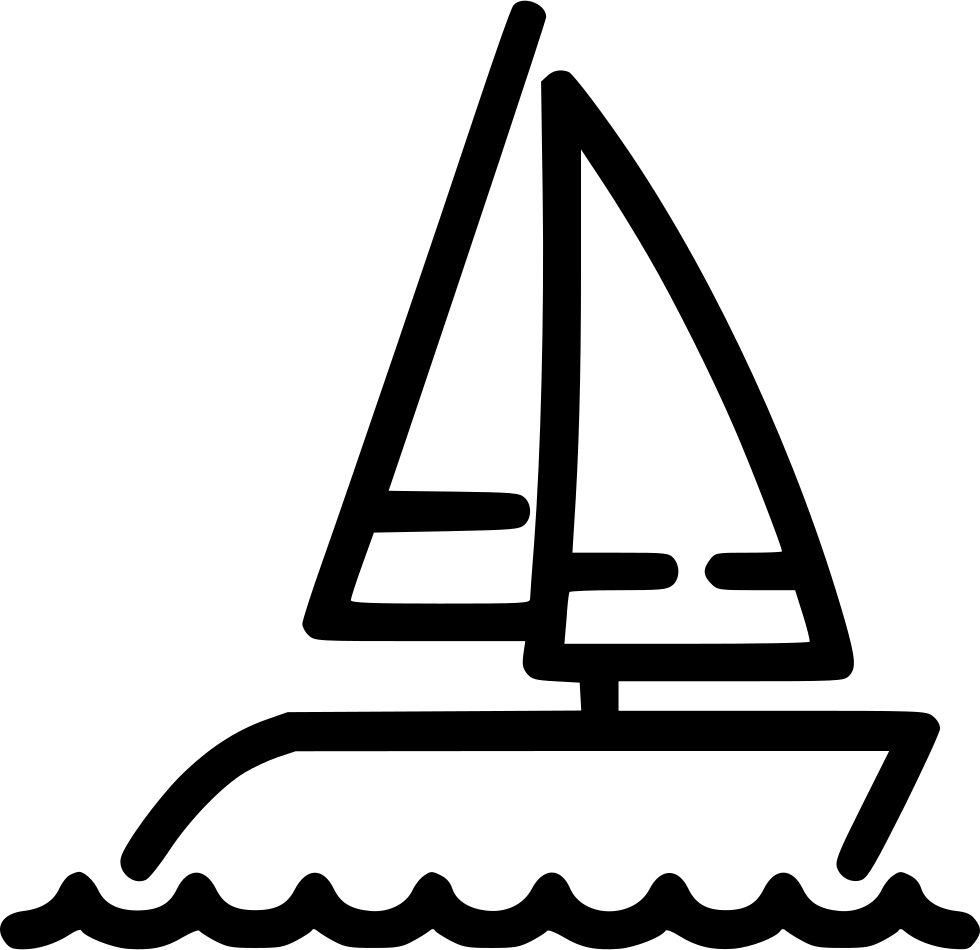 vector freeuse stock Svg png icon free. Yacht clipart y be for