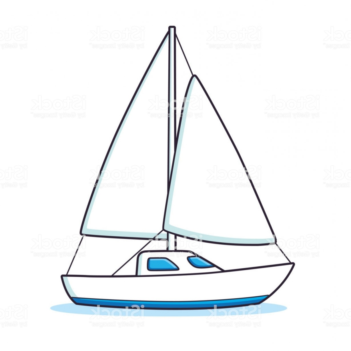 banner Yacht clipart yaught. Sailboat or sailing gm