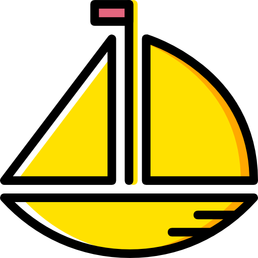 clipart black and white library Yacht clipart yellow boat. Transport ship cruise ships