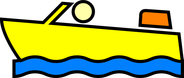 image freeuse Yacht clipart yellow boat. Animated vector labs image