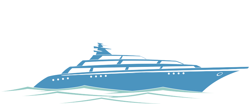 banner black and white library Yacht Cruise ship Icon