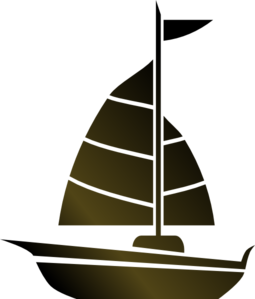 graphic Simple Sailboat Clip Art at Clker