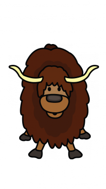 clipart black and white download How to Draw a Yak
