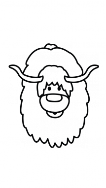 vector transparent stock Yak Drawing at GetDrawings
