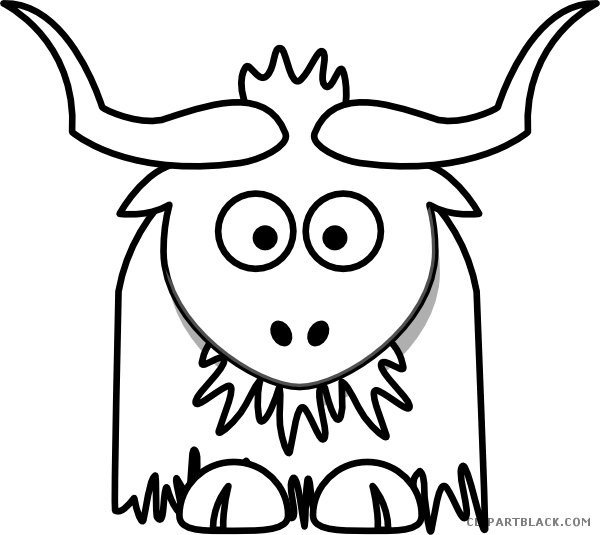 clip royalty free stock Yak Clipart