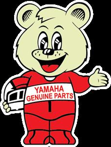 clip freeuse stock yamaha bear Logo Vector