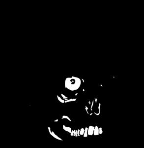 banner free stock yamaha vector skull #109294007