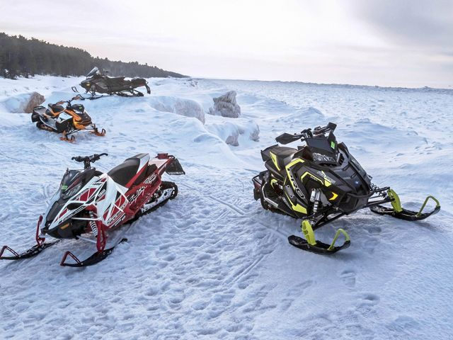 free Four Fast Snowmobiles Tested