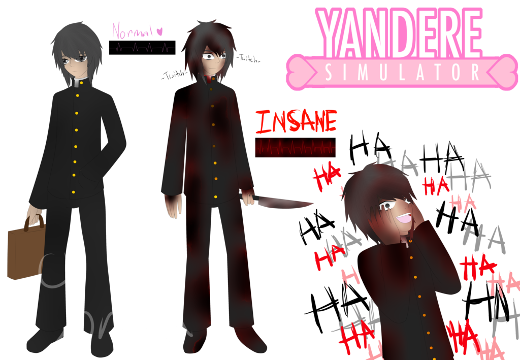 jpg freeuse download yandere drawing boy #109300137