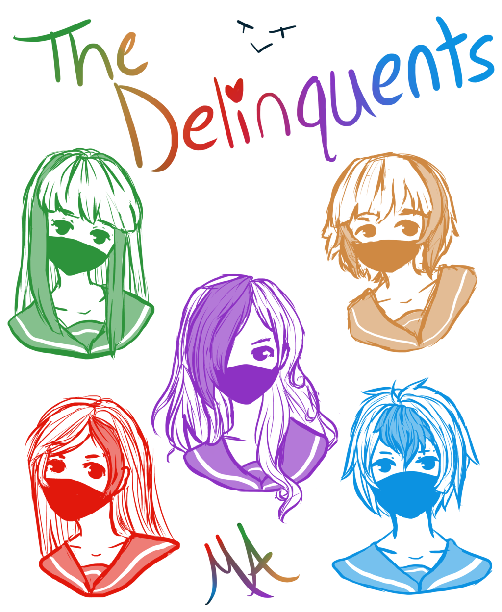 banner free download The Delinquents by Tsumaku on DeviantArt