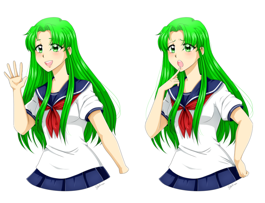 picture transparent stock Midori Gurin by SRealms on DeviantArt