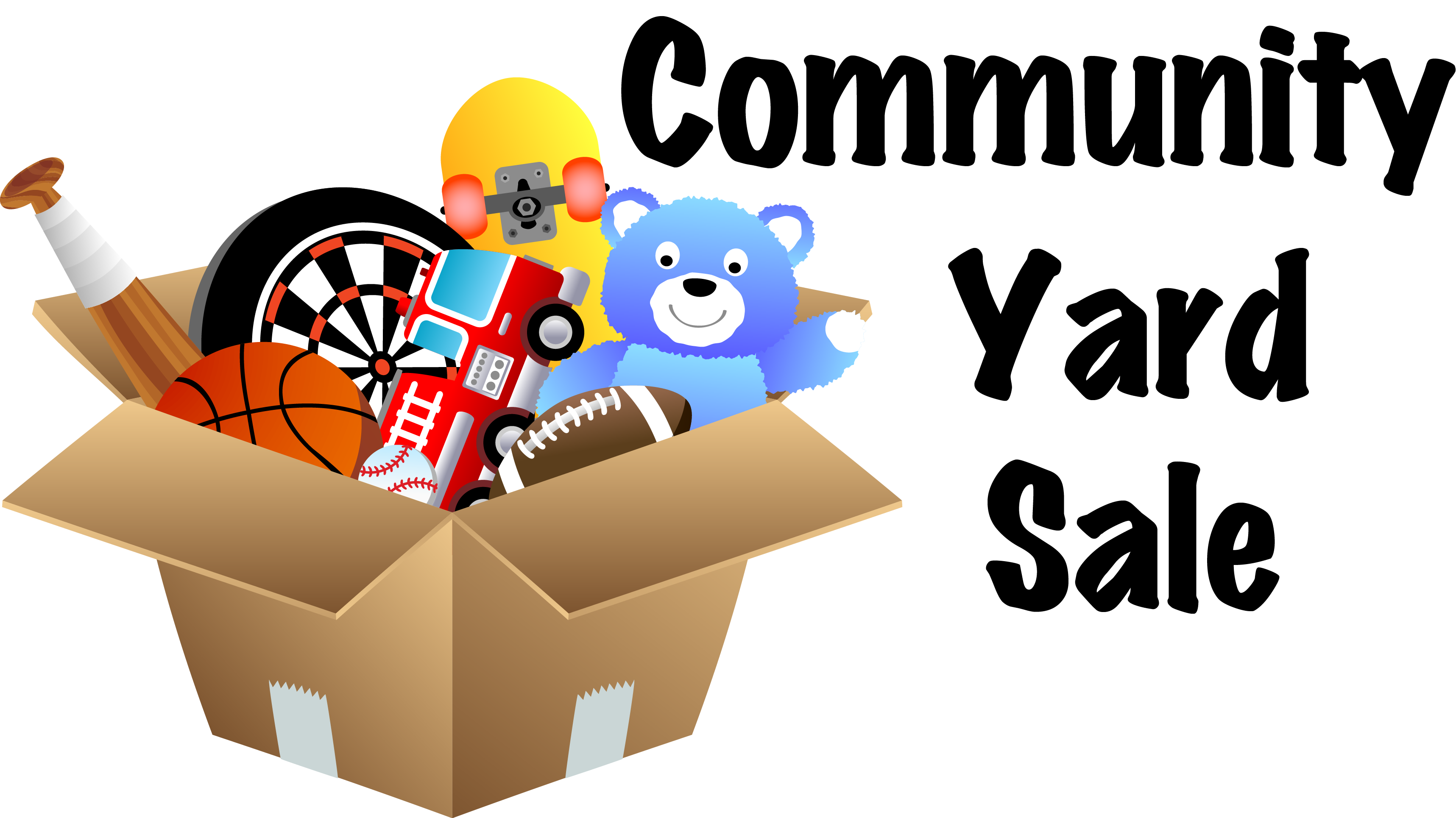 picture freeuse Community Yard Sale Signs Clipart