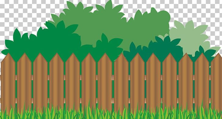 png free stock Picket fence flower garden. Yard clipart backyard.