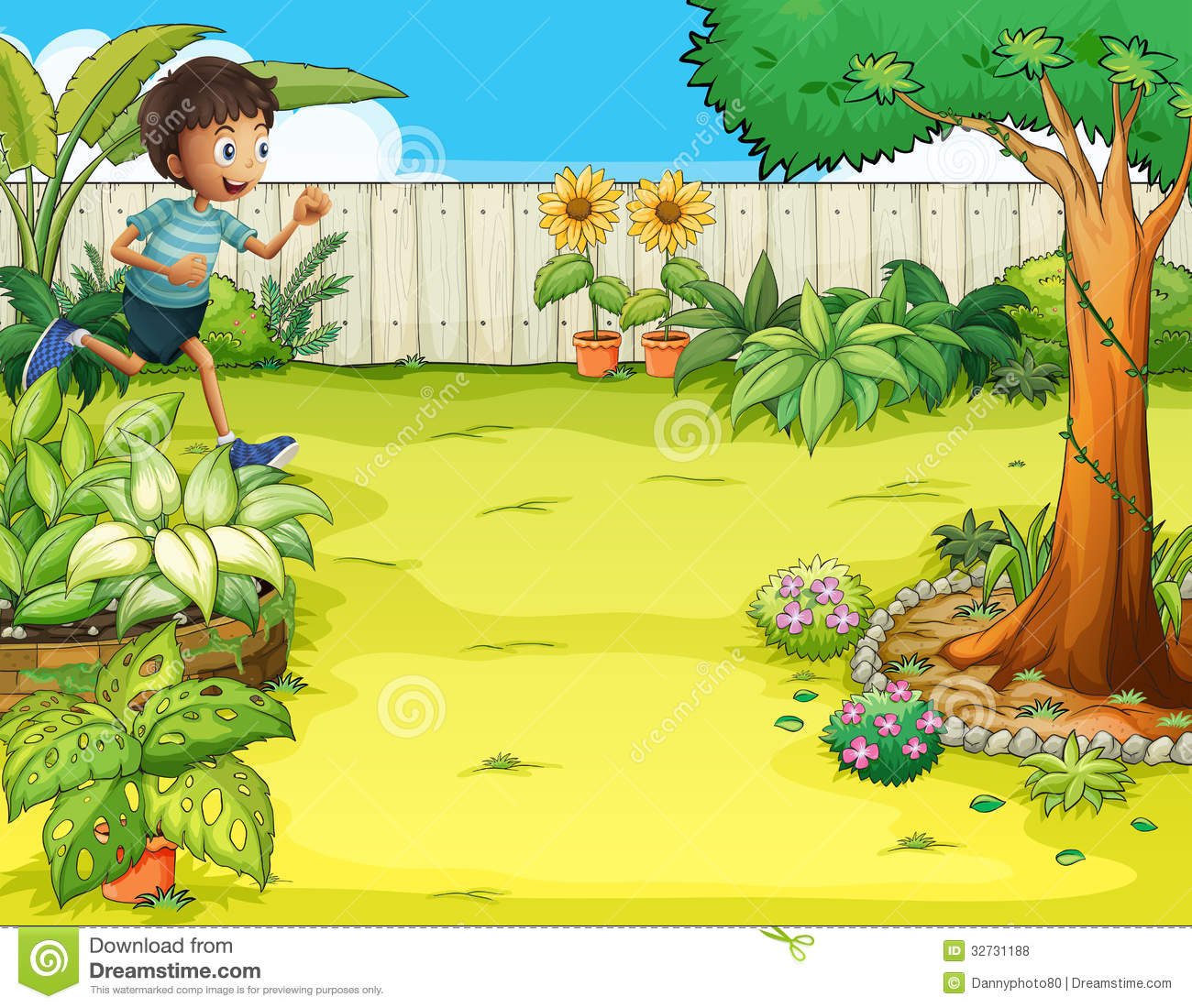 vector free  backyard clipartlook. Yard clipart cleaning