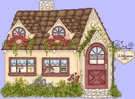 vector download Yard clipart cute cottage. Free cliparts download clip
