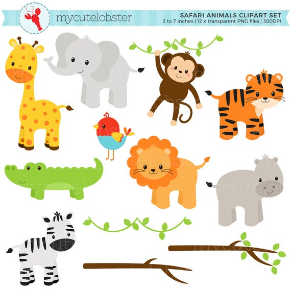 png transparent stock Yard clipart safari. Animals set clip art.