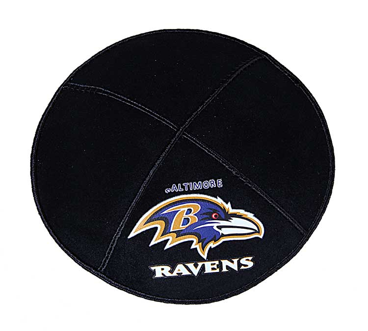 vector Baltimore Ravens Football Kippah