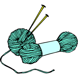 picture library stock Clip art free projects. Knitting needles clipart