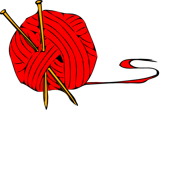 graphic download Red Ball Yarn Clip Art at Clker