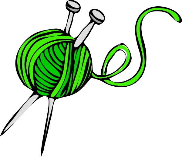 clip black and white stock Green Yarn clip art Free vector in Open office drawing svg