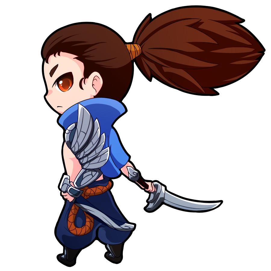 clip black and white download yasuo drawing cute #118999118