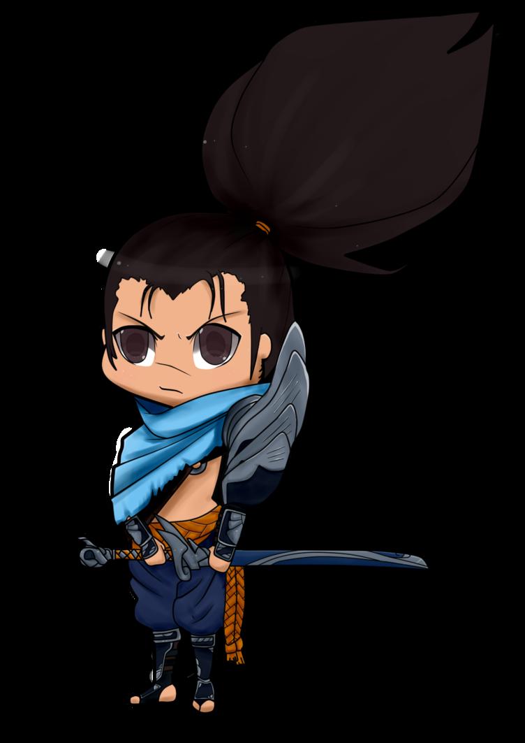 image free stock Chibi Yasuo by LadyTanuki on DeviantArt