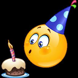 jpg transparent Happy birthday emoji emoticons. Yay clipart satisfied customer