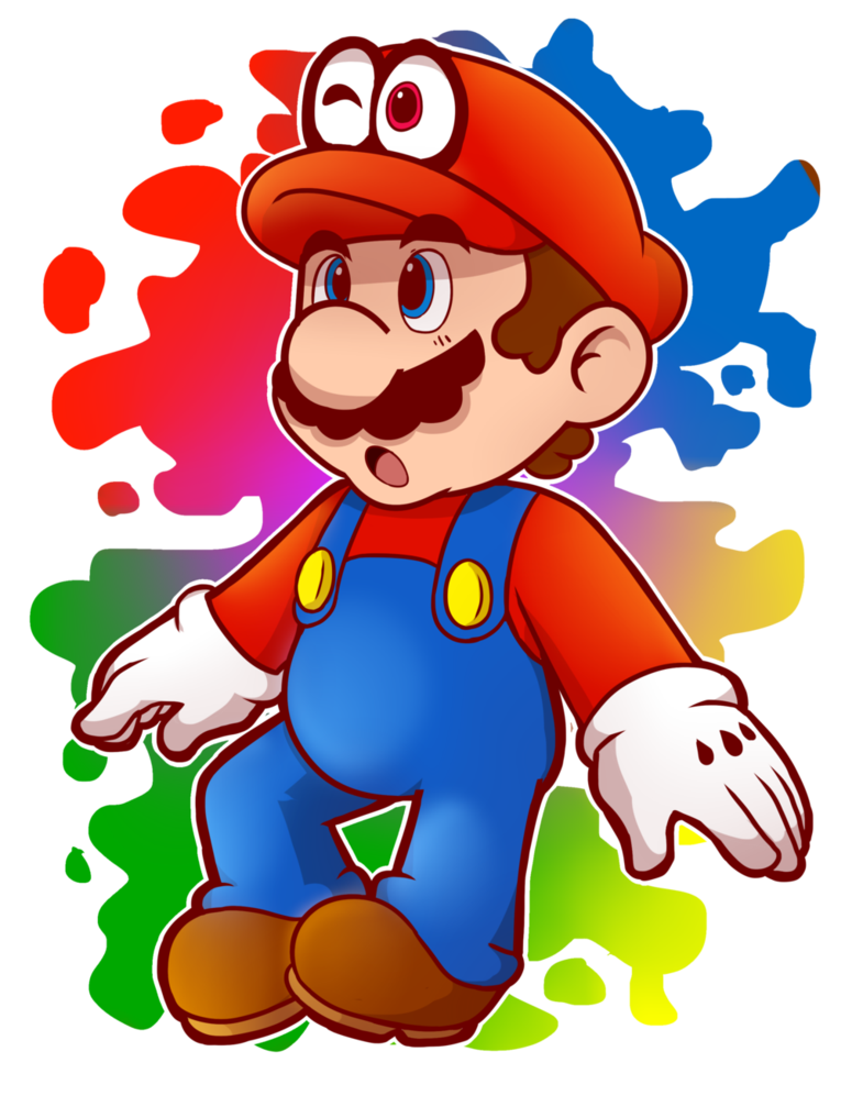 graphic freeuse download Yay clipart supe. Mario style attempt by