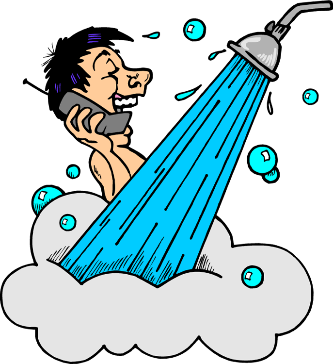 royalty free stock Yay clipart testing. Take shower google search