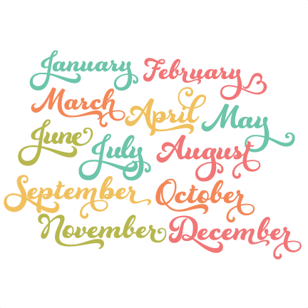freeuse download Months of the set. Year clipart 3 year