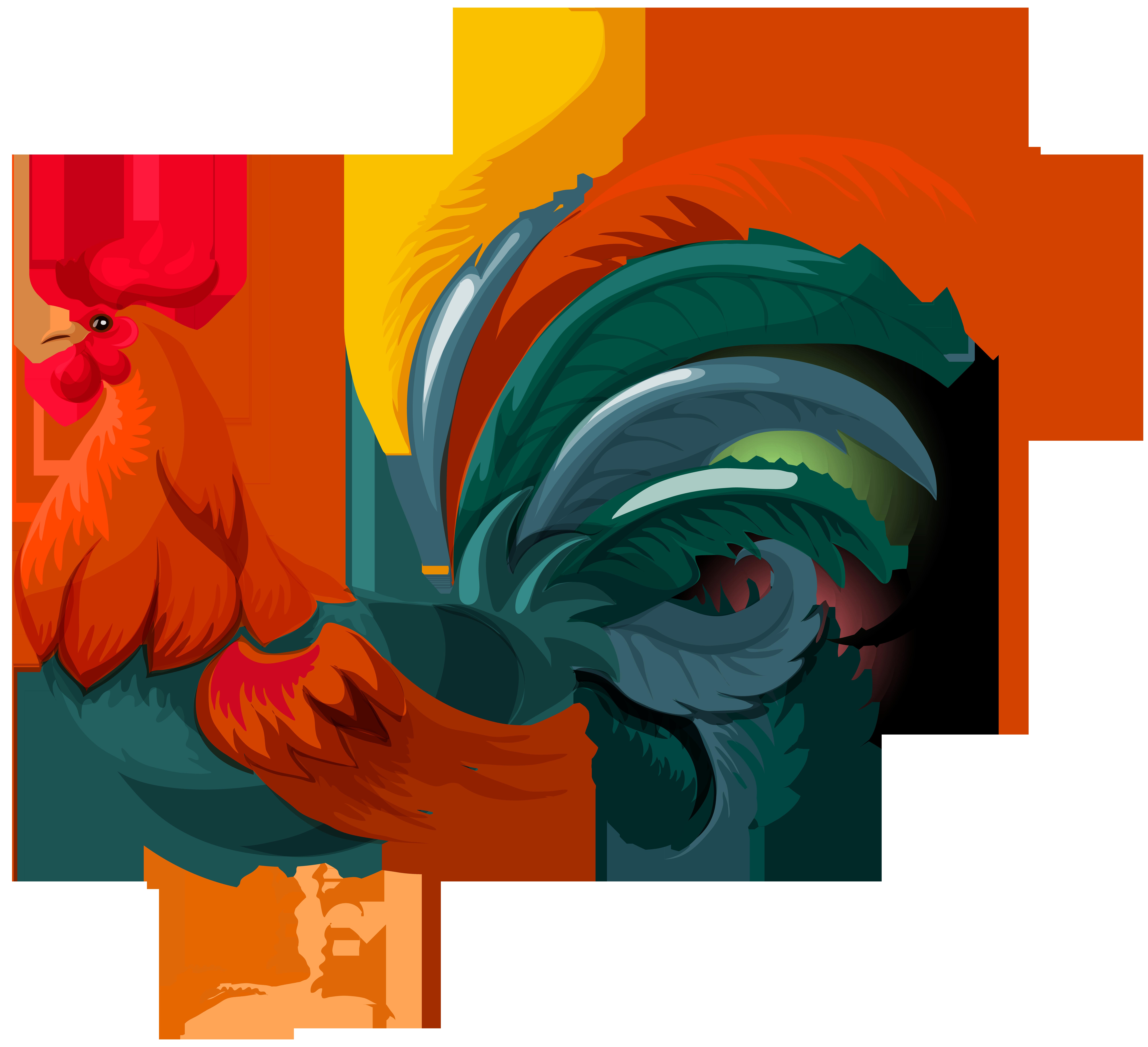 jpg stock Year clipart chicken. Rooster clip art schliferaward