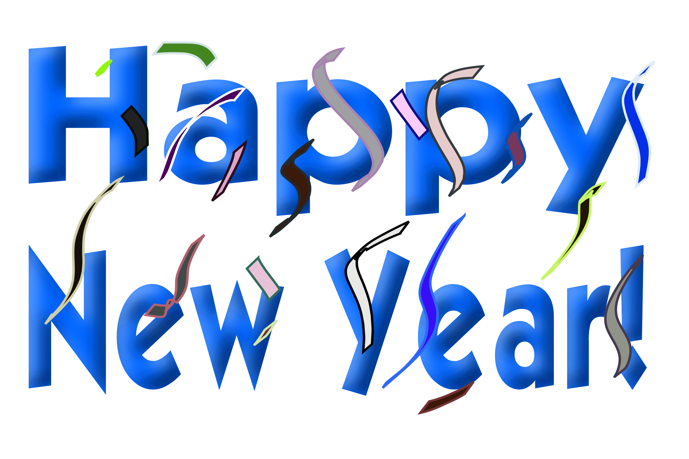 png transparent stock Happy big image png. Year clipart new year's day