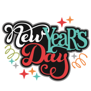 freeuse library Year clipart new year's day. S svg scrapbook title