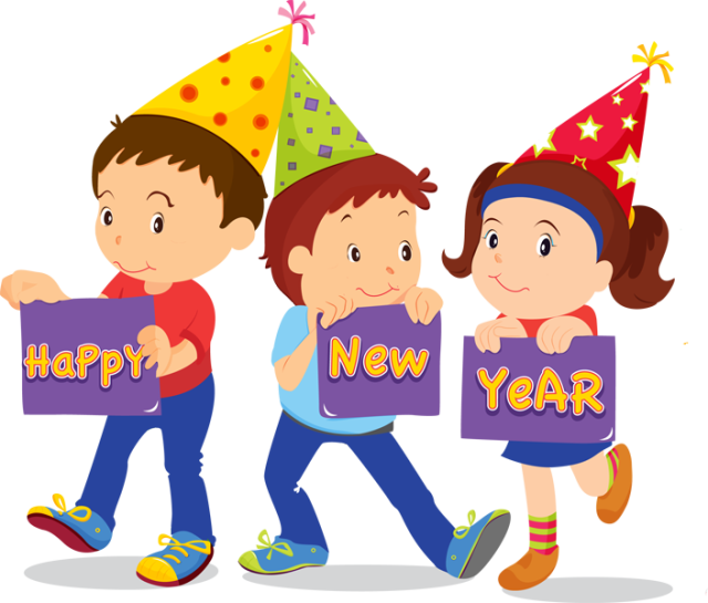 clipart library Happy New Year Clipart school