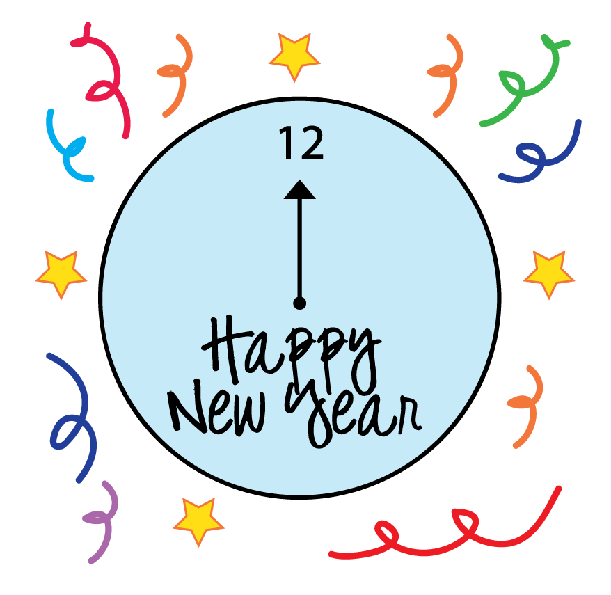 vector transparent download New Year Eve Clip Art