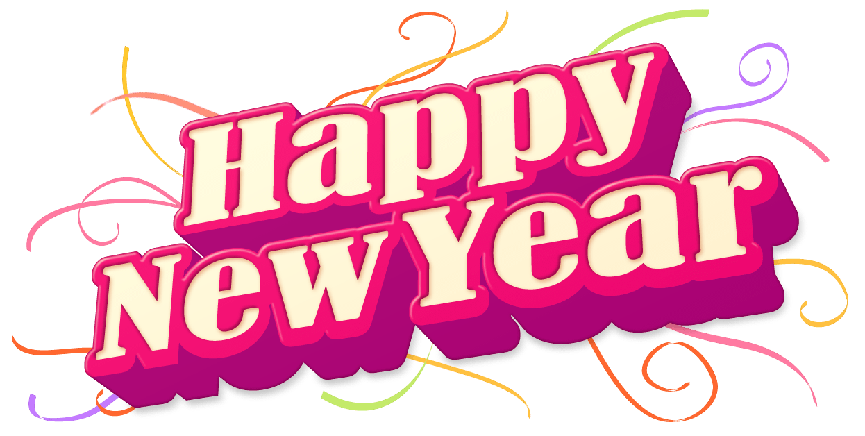 banner library stock Years eve clipart happy. New sticker transparent png