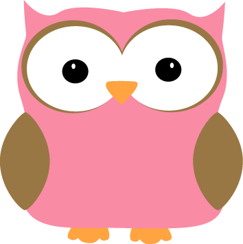 png black and white Pink clip art image. Years clipart owl